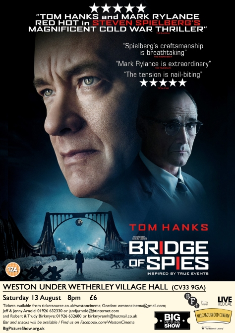 Bridge of Spies_Weston under Wetherley Village Hall_e-flyer